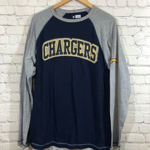 NFL TEAM APPAREL CHARGERS long sleeve shirt